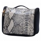 Snake Skin Pattern Hanging Travel Toiletry Bag Bulk