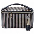 HQ Stripe Vanity Bag