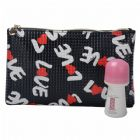 Personalized LOVE Pattern Cosmetic Bag