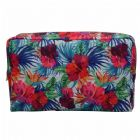 Large Floral Travel Toiletry Bag