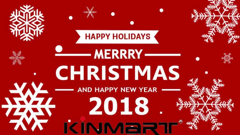 Merry Christmas & Happy New Year 2018 - Kinmart