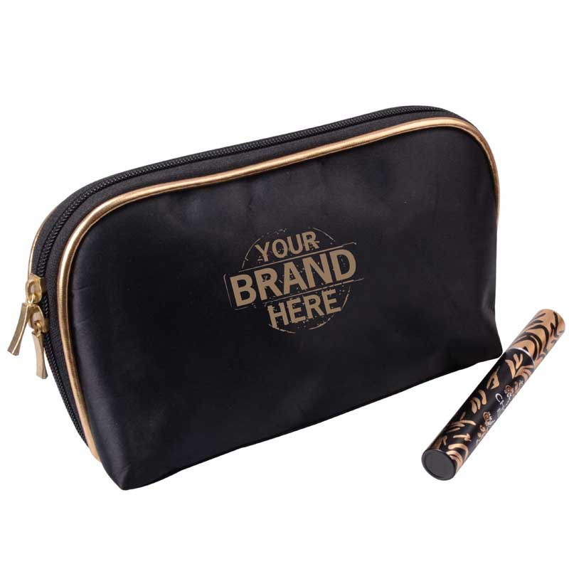 Personalized Makeup Bag, Cosmetic Bag with Logo