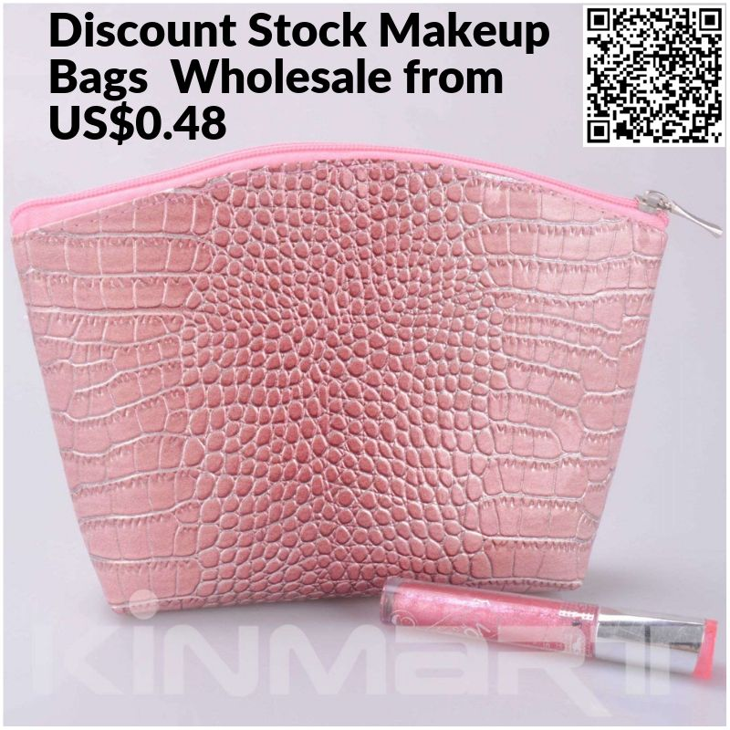 Wholesale Makeup Bags Bulk at discount rate