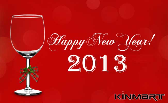 Cheers from 2013 New Year from Kinmart
